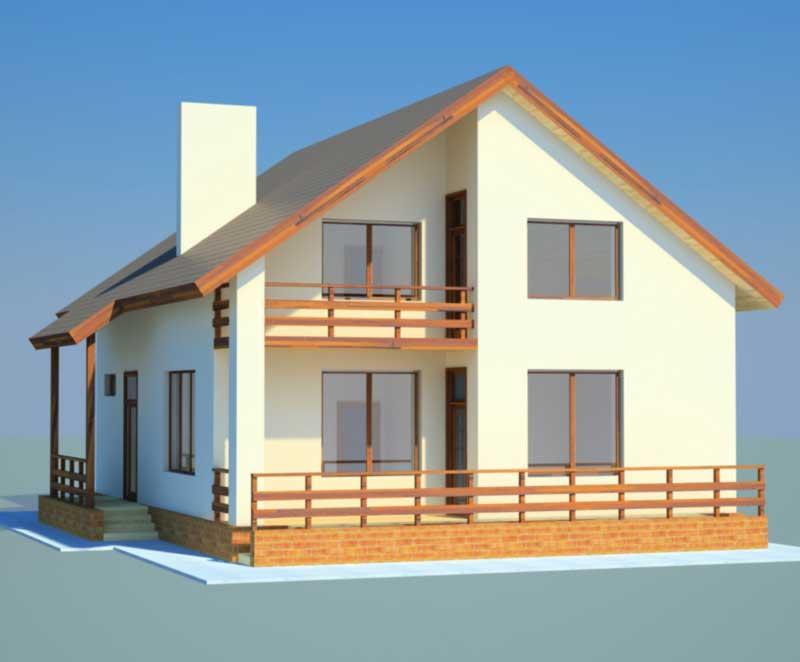 Проекты домов из газобетона со сметой